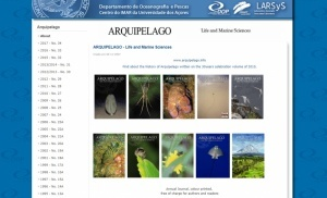 "Important contribution of Azorean Biodiversity members to the volume 34 of the ""Arquipelago - Life and Marine Sciences"" journal"